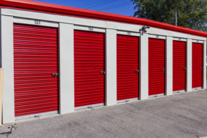 exterior drive up self storage units