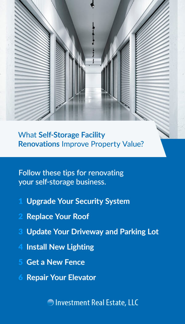 What Self-Storage Facility Renovations Improve Property Value?